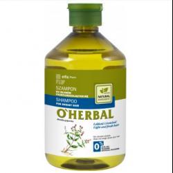 o herbal szampon do włosów przetłuszczających się
