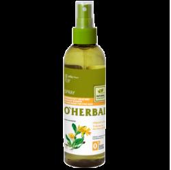 o herbal spray do włosów z arniką