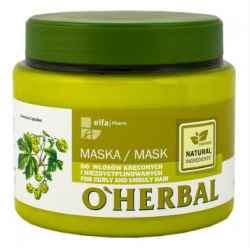 o herbal maska z chmielem