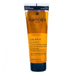 RENE FURTERER OKARA Szampon do włosów farbowanych BLOND pasemka ACTIVE LIGHT włosy farbowane 250ml
