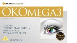 OKOMEGA3, 40 kapsułek