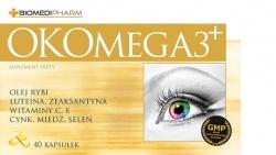 OKOMEGA3 Plus, 40 kapsułek