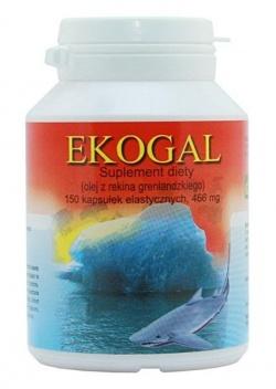 Olej z wątroby rekina Ecogal