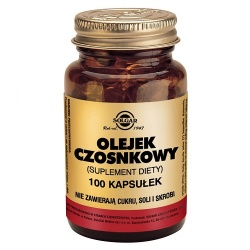 Olejek Czosnkowy, 100 kapsułek