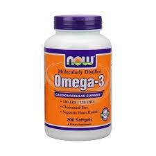 NOW - Omega-3 - 200 kaps