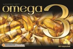 Omega 3, 60 kapsułek