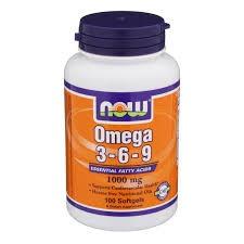 NOW - Omega-3-6-9 1000 mg - 100 softgels