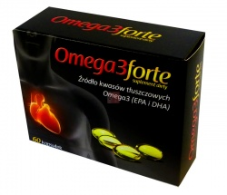Omega 3 Forte, kapsułki, (Starpharma), 60 szt