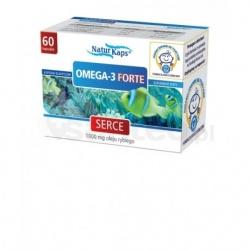 Omega-3 Forte Naturkaps, kapsułki, 60 sztuk