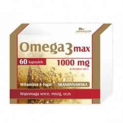 Omega 3 1000 mg max + witamina E