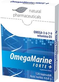 OmegaMarine Forte+, kapsułki, 120 szt