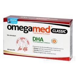 Omegamed Classic dla dorosłych, kapsułki, 30 szt