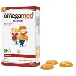 Omegamed Odporność, pastylki żelowe dla dzieci powyżej 3 roku życia, 30 szt