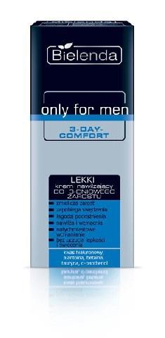 Only for Men Lekki krem nawilżający do 3-dniowego zarostu, 50 ml