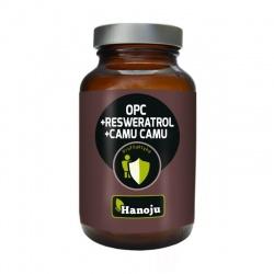 OPC + Resweratrol + Camu Camu, 60 kapsułek