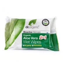 Organiczne Chusteczki Nawilżane Aloe Vera, 20 szt