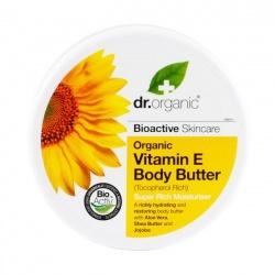 Organiczne Masło do Ciała Witamina E, 200 ml