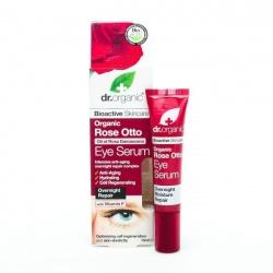 Organiczne Serum pod Oczy Olejek Różany, 15 ml