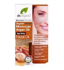Organiczny Olejek do Twarzy Marokański Olej Arganowy