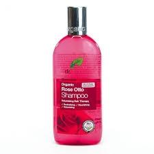 Organiczny Szampon do Włosów Olejek Różany, 265 ml