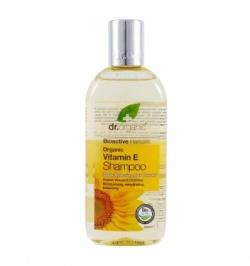 Organiczny Szampon do Włosów Witamina E, 250 ml