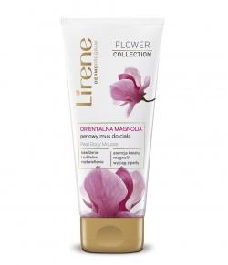 Lirene - orientalna magnolia - perłowy mus do ciała