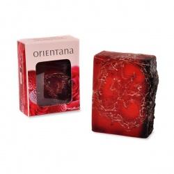Orientana, Naturalne mydło Luffa, Róża Japońska i Liczi, 100g