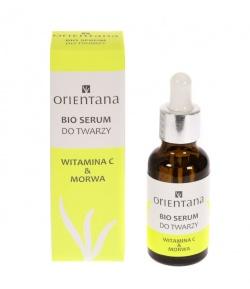 Orientana Bio, serum do twarzy, witamina C & morwa, 30ml