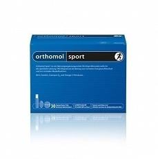 Orthomol Sport, 30 porcji (fiolki, tabletki i kapsułki)