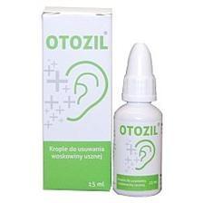 Otozil, krople, do usuwania woskowiny usznej, 15 ml