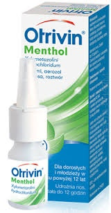 Otrivin Menthol, 0,1 %, aerozol, 10 ml