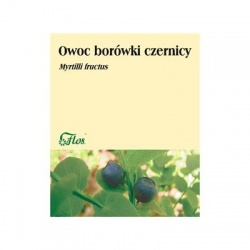 Owoc borówki czernicy, zioło pojedyncze, (Flos), 50 g