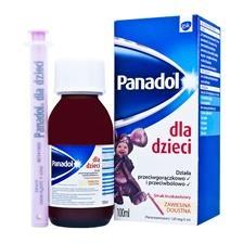 Panadol dla dzieci, zawiesina, (120 mg  5 ml), 100 ml
