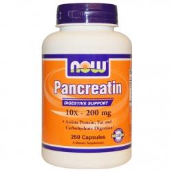 Pancreatin 10 x 200mg, 250 kapsułek