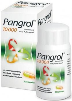 Pangrol 10 000, 50 kapsułek