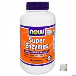 PAPAYA ENZYMES 180 tabletek ENZYMY TRAWIENNE