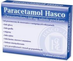 PARACETAMOL HASCO, tabletki, 15, 60 sztuk