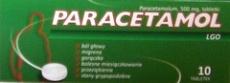 Paracetamol  LGO