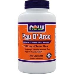 Pau D'Arco 500mg, 250 kapsułek