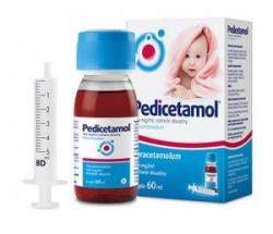 Pedicetamol roztwór doustny 60 ml