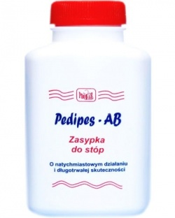 Pedipes AB, zasypka, do stóp, 75 g