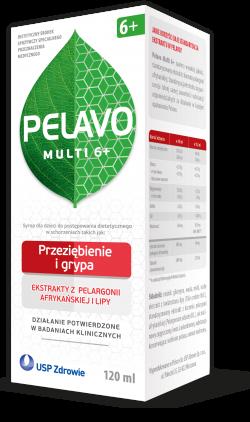 Pelavo Multi 6+, syrop 120 ml