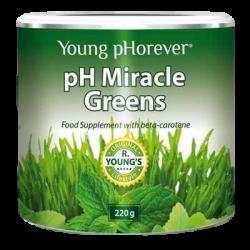 pH Miracle Greens - sproszkowane żywe warzywa i zioła, 220 g
