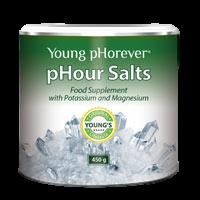 pHour Salts - mieszanka 4 rodzajów soli mineralnych, 450 g