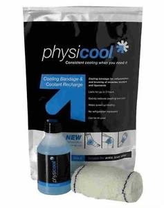 Physicool Combination Pack, bandaż 10x200cm + płyn 150ml