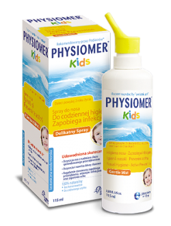 Physiomer Kids, spray do nosa, 115 ml