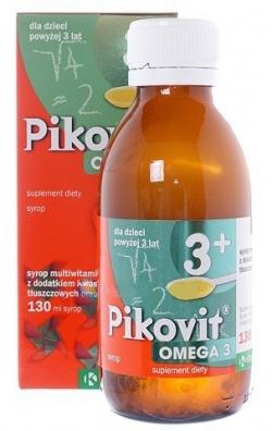 Pikovit Omega 3, syrop, 130 ml