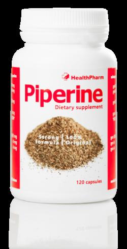 Piperine, 120 kapsułek