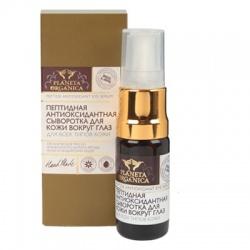 Peptydowe serum antyoksydacyjne do pielęgnacji okolic oczu – Planeta Organica - 10 ml