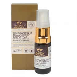 Chłodzący żel pod oczy przeciw cieniom i obrzękom – Planeta Organica - 10 ml